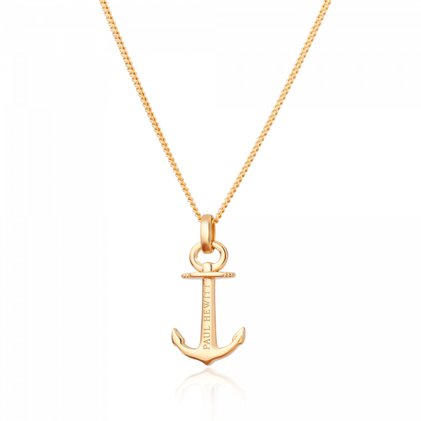 Halskette Anchor Spirit Gold