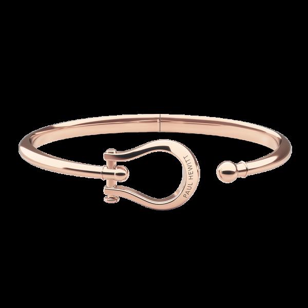 Bracelet Jonc Shackle Or Rose