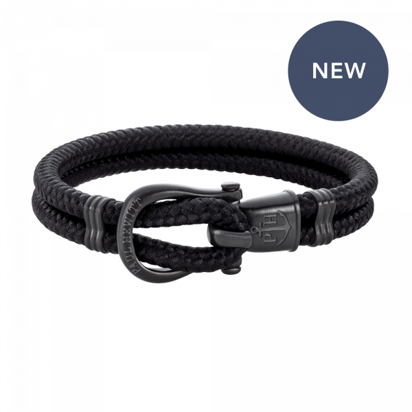 Phinity Bracelet Black Nylon