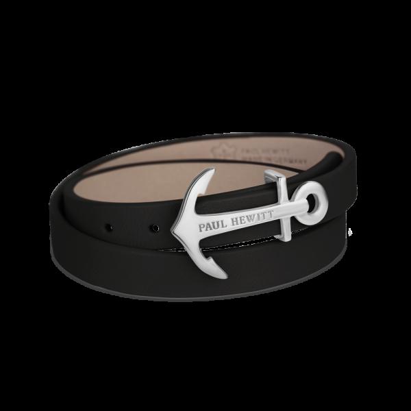 Wrap Bracelet North Bound Stainless Steel Black