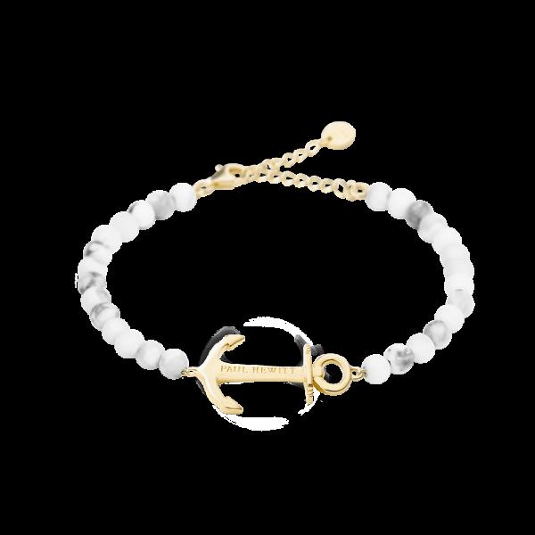 Armkette Anchor Spirit Gold Marble