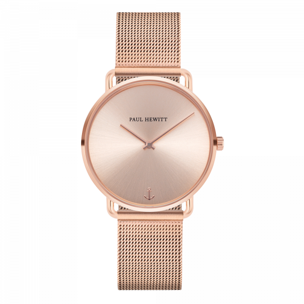 Watch Miss Ocean Rose Sunray Rose Gold Mesh