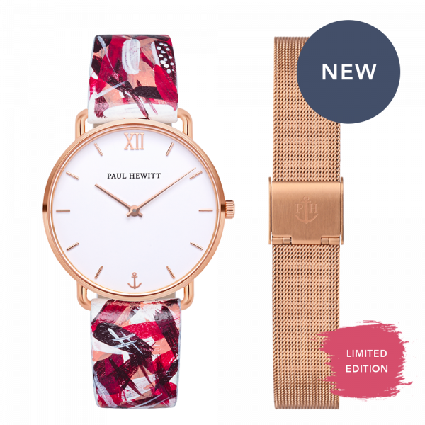 Set Perfect Match Born Originals Miss Ocean and Pink Camo Strap