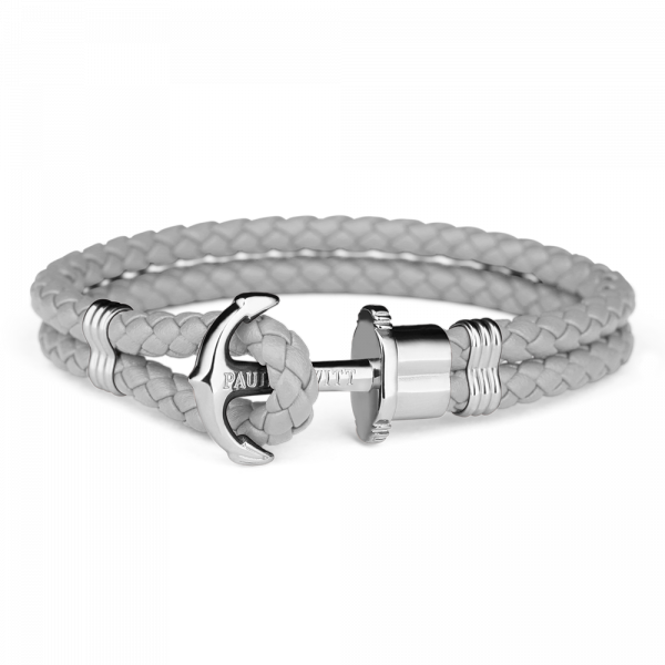Anchor Bracelet PHREP Stainless Steel Grey