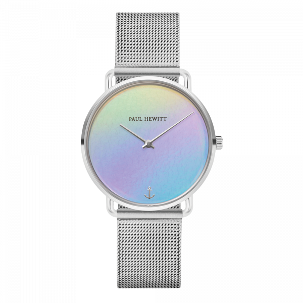Watch Miss Ocean Holo Silver Mesh