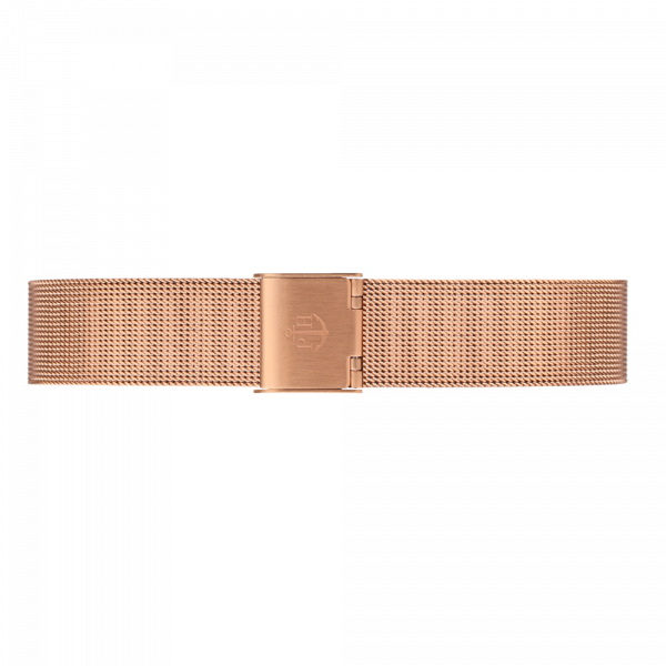 Watch Strap Mesh Rose Gold 16 mm