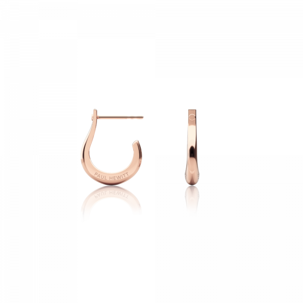 Earring Shackle Hoop Rose Gold