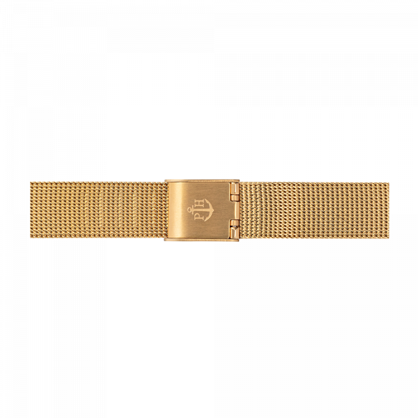 Watch Strap Mesh Gold 12 mm