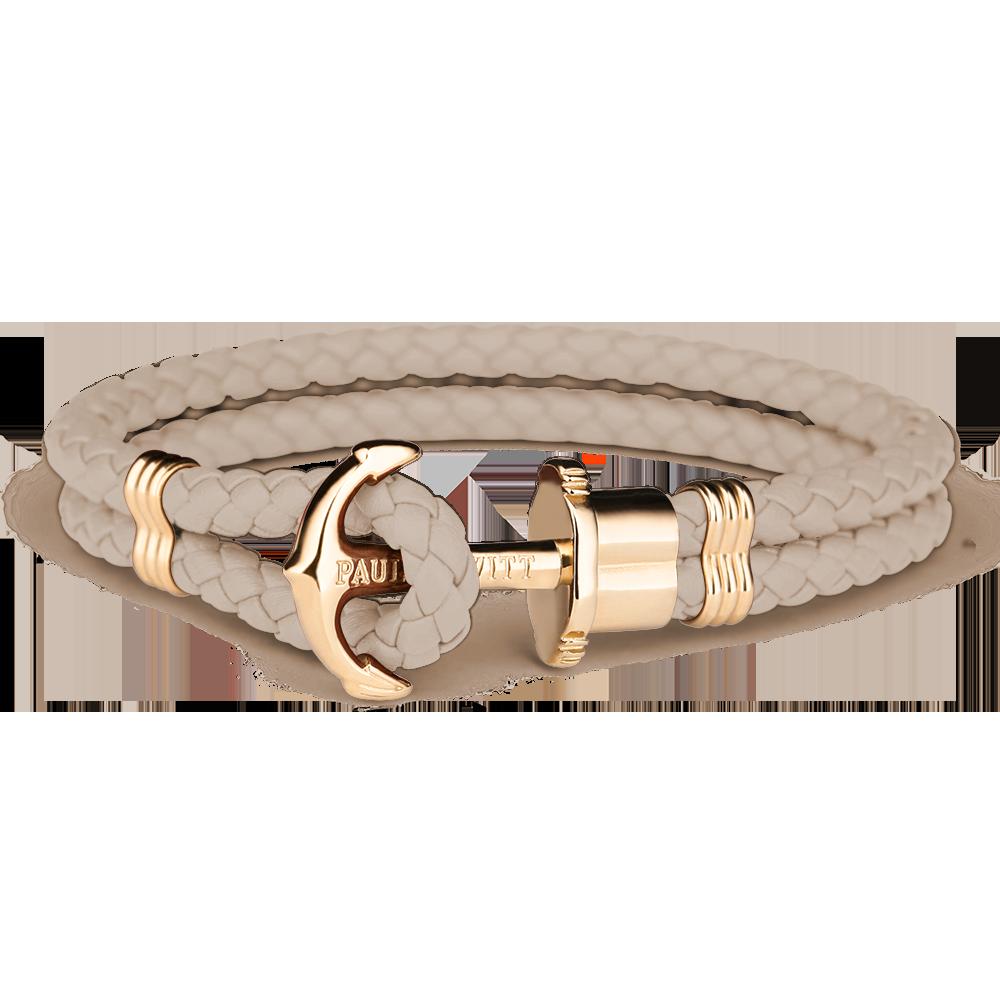 Anchor Bracelet PHREP IP Gold Hazelnut
