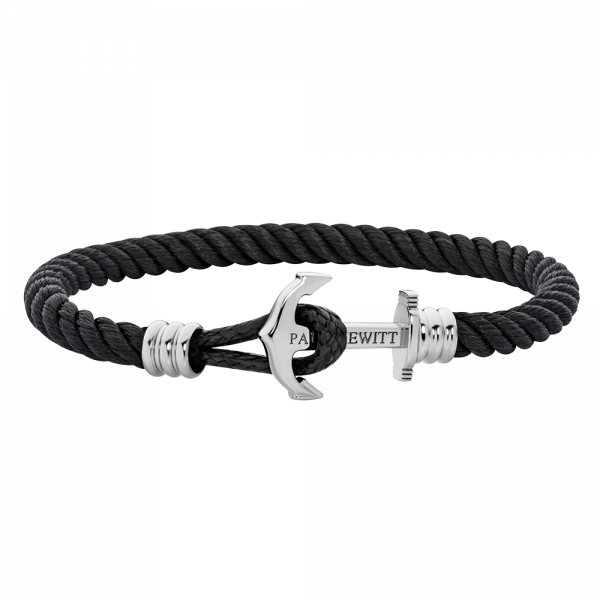 Phreps Lite Anchor Bracelet Phrep Stainless Steel Nylon Black