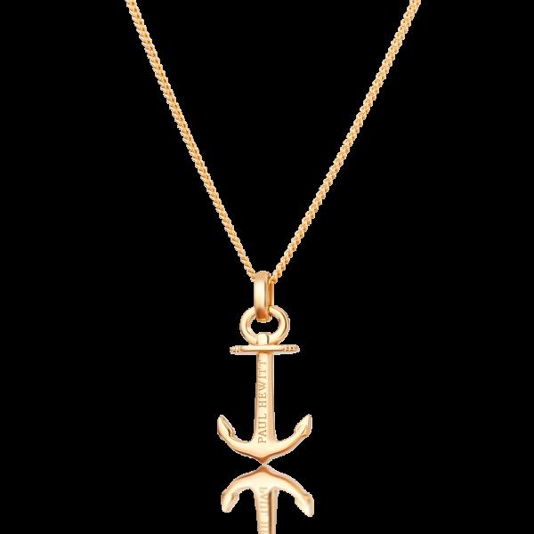 Halskette Anchor Spirit Plated Gold