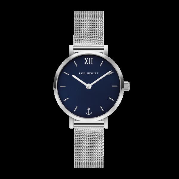 Uhr Sailor Line Modest Blue Lagoon Edelstahl Meshband