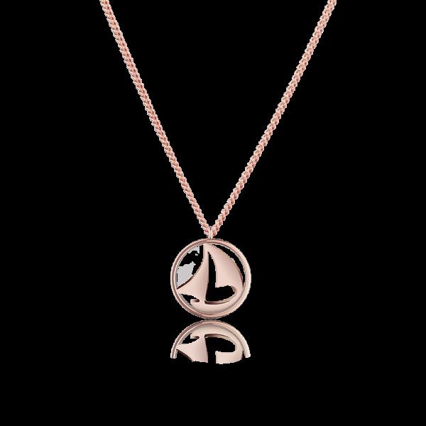 Necklace Sail Away Rose Gold