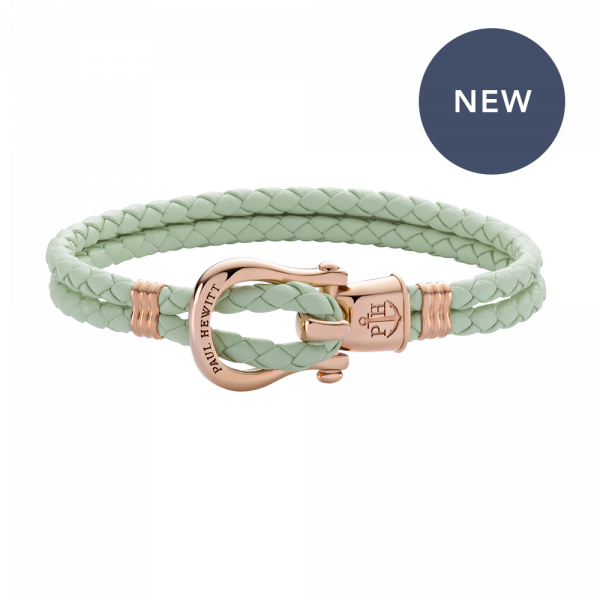 Bracelet Phinity Or Rose Cuir Mint