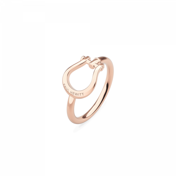 Bague Shackle Or Rose