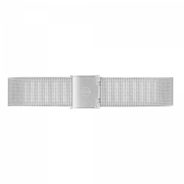 Watch Strap Mesh Silver 16 mm