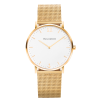 Watch Sailor Line White Sand IP Gold Metal Watchstrap IP Gold