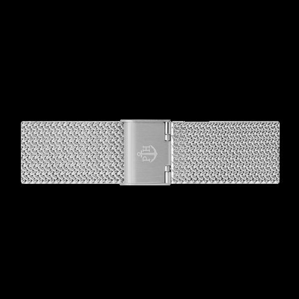Bracelet de Montre Mesh Woven Argenté 20 mm