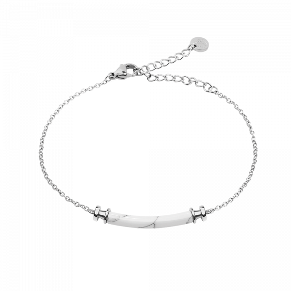 Bracelet Starboard Silver Marble