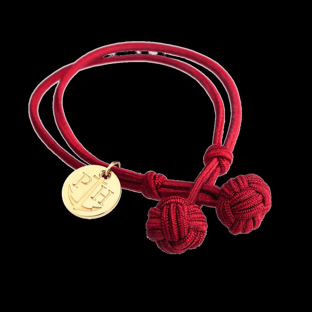 PAUL HEWITT Knotbracelet Red
