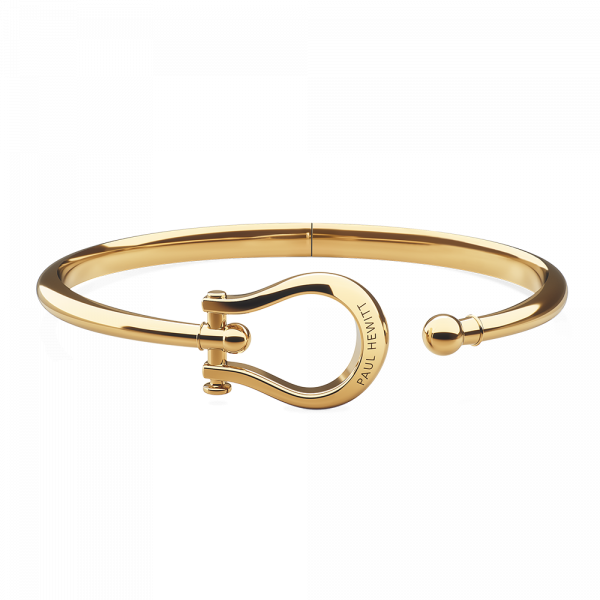 Armreif Shackle Gold