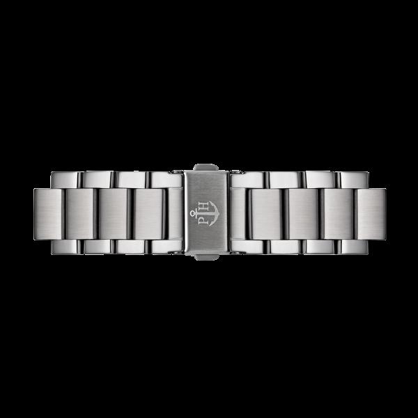 Uhrenarmband Metall Silver Metal 20 mm