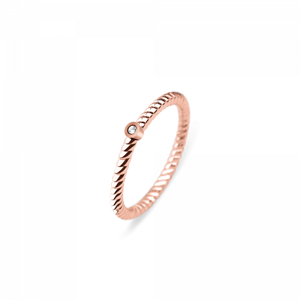 Bague North Star Or Rose