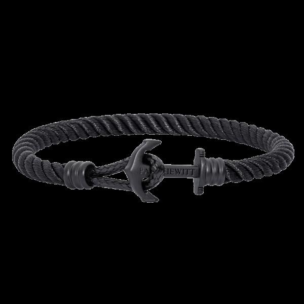 Anchor Bracelet Phrep Lite Black Nylon Black