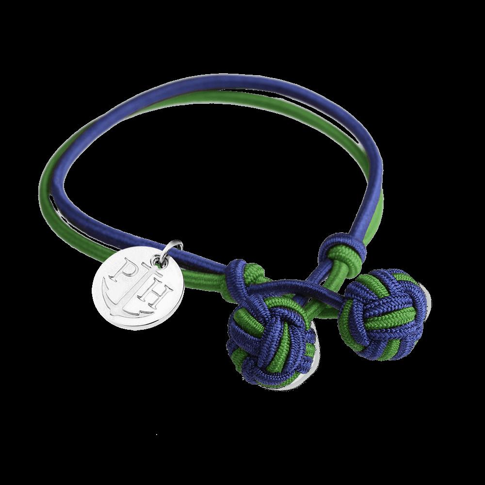PAUL HEWITT Knotbracelet Navy Blue-Green