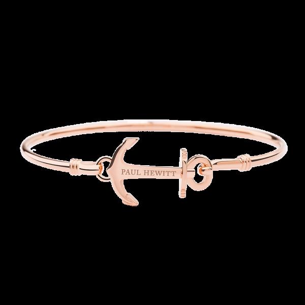 Bracciali Rigidi Anchor Cuff Oro Rosa