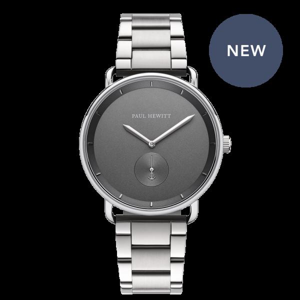 Uhr Breakwater Iron Grey Silber Metall