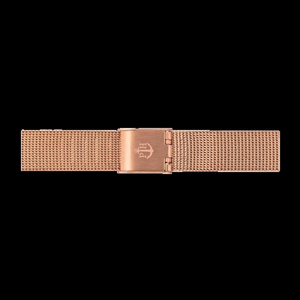 Watch Strap Mesh Rose Gold 12 mm